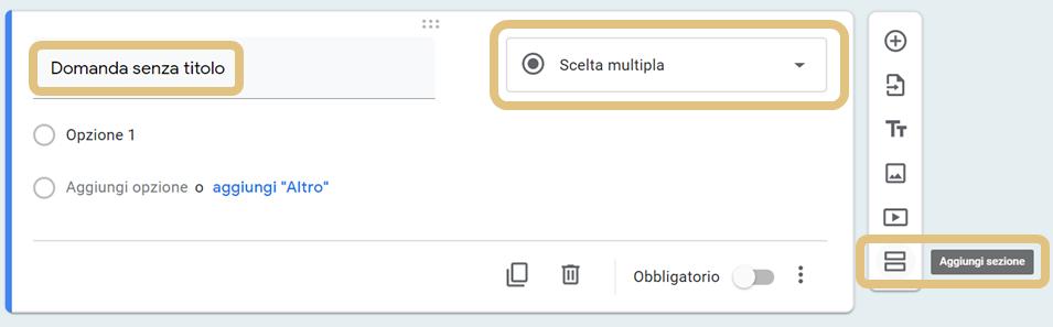 Tutorial Google moduli: domanda