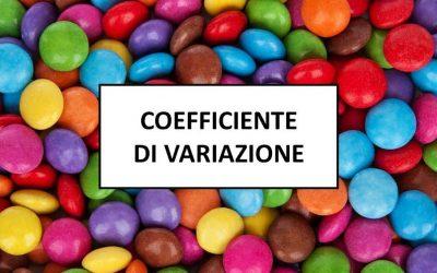 Coefficiente di variazione statistica