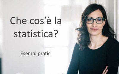 Statistica: definizione pratica ed esempi